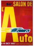 54e Salon de l'Automobile Giclee Print by Pierre Fix-Masseau