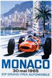 Monacon Grand Prix, 30. toukokuuta 1965 Giclee-vedos