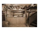 A Wine Tasting Bar Lámina fotográfica por Donna Corless