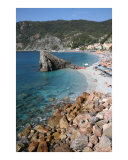 The Rocks at Monterosso Photographic Print by Donna Corless