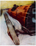 Voitures de Courses Giclee Print by  Draguy