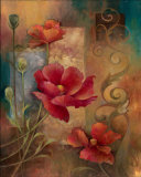 Poppy Paradise Posters by Elaine Vollherbst-Lane