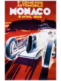 Grand Prix de Monaco, 1930 Giclee Print by Robert Falcucci