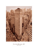 Flatiron Building, New York Posters by Sergei Beliakov