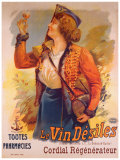Vin Desiles Giclee Print by Francisco Tamagno