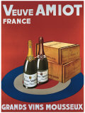Veuve Amiot Grands Vins Giclee Print
