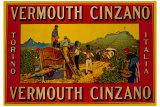 Vermouth Cinzano Lámina giclée