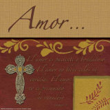 Amor Poster by Marilu Windvand