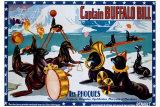 Captain Buffalo Bill Giclee Print