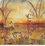 Goldener Horizont|Golden Horizon Kunstdrucke von Jane Bellows