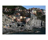 The Town of Manarola Photographic Print by Donna Corless
