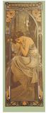 Repos de la Nuit Giclee Print by Alphonse Mucha