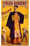 Jacobi - Folies Bergeres, Chinese Giant - Giclee Baskı