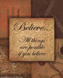 Believe Art by Smith-Haynes 