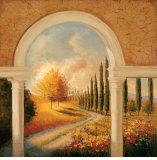 Tuscan Colonnade Prints by Jill Schultz McGannon