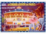 Le Cirque d'Hiver de Paris Giclée-vedos