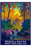 Oasis de Nefta Giclee Print by Jacques de la Neziere