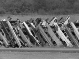 Car Fence, Ferris, Texas, c.1972 Photographic Print