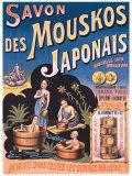 Savon des Mouskos Japonais Giclee Print