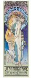 Theatre de la Renaissance Giclee Print by Alphonse Mucha