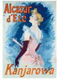 Alcazar d'Ete Giclee Print by Jules Chéret