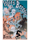 Folies Bergeres Giclee Print by Jules Chéret