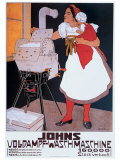 Johns Wash Machine Giclee Print by Adolf Karpellus
