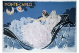 Monte-Carlo Gicl&#233;e-Druck von Louis Icart