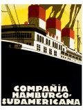 Compania Hamburgo Sudamericana Giclee Print