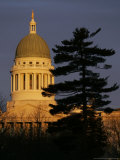 Maine State House, Augusta, Maine Photographic Print by Robert F. Bukaty