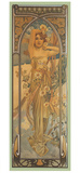 Eclat du Jour Giclee Print by Alphonse Mucha