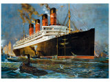 Aquitania Giclee Print by Odin Rosenvinge