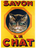 Savon le Chat Giclee Print