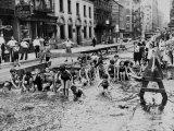 New York City Heatwave, c.1936 Photographie