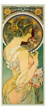 La Primevere Giclee Print by Alphonse Mucha