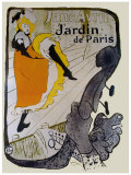 Jane Avril Stampa giclée di Henri de Toulouse-Lautrec