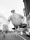 Thanksgiving Day Parade, New York, New York, c.1948 Fotografie-Druck von John Rooney