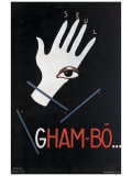 Gham Bo Giclée-tryk af Paul Colin