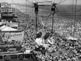 Coney Island View  New York  New York  c1957