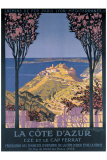 Cote d'Azur Cap Ferrat Giclee Print by George Dorival