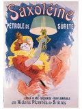 Saxoleine en Bidons Plombes Gicléetryck av Jules Chéret