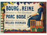 Bourg la Reine Giclee Print by R. Garmaison