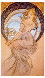 Malirstivi Giclee Print by Alphonse Mucha