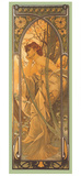 Reverie du Soir Giclee Print by Alphonse Mucha