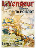 Le Vengeur Panoroma Naval Giclee Print by Lucien Lefevre