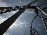 Storm Runner Rolleer Coaster at Hersheypark, Pennsylvania Photographic Print by Carolyn Kaster