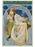 Princezna Hyacinta Giclee Print by Alphonse Mucha