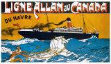 Ligne Allan au Canada Giclee Print