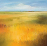 Yellow Fields I Posters av Hans Paus
