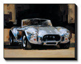 427 Shelby Cobra Limited Edition on Canvas by Paul Panossian